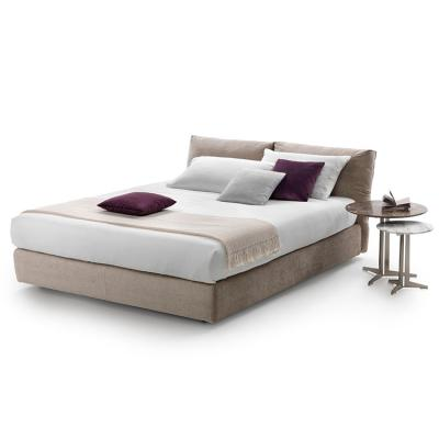 2019年新品 意大利 Flexform NEWBRIDGE SOFT Bed Designer Carlo Colombo 布艺沙发床铺