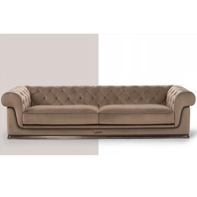 高端定制家具意大利Visionnaire现代轻奢三人沙发豪宅布艺沙发
