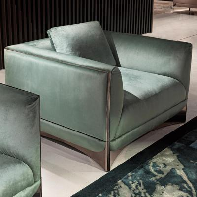 Visionnaire ALESSANDRO LA SPADA客厅设计案例   Ca'Foscari sofa  单人双人三人柜子茶几边几组合沙发
