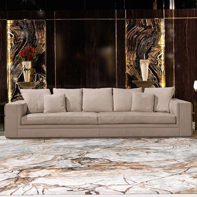 Visionnaire  Sofa 轻奢沙发 单人位双人位三人位沙发 豪华版 不锈钢拉丝嵌入包边方块方格砖块沙发