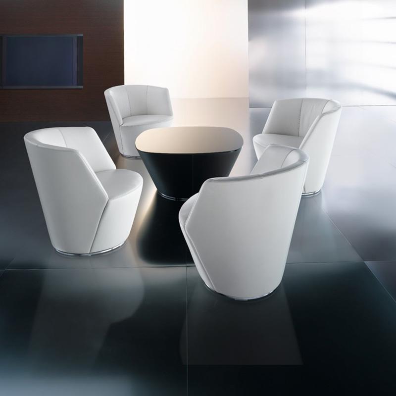奥地利皇家宫廷供应商德国万德诺 WALTER KNOLL  iF设计奖红点奖作品 单人位沙发椅餐椅洽谈椅茶几组合