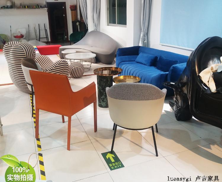 实物 意大利米诺特 安琪安乐椅 甘夫拉蒂丹麦设计师 餐椅会所酒店家用