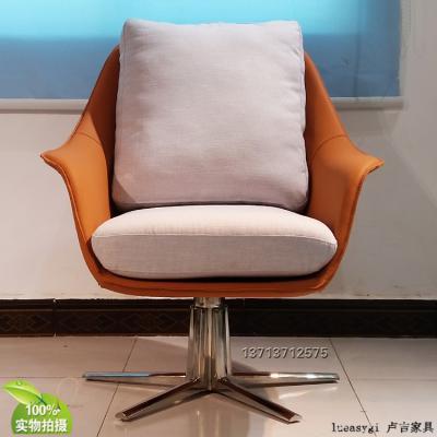 意大利科伦坡半躺椅休闲椅玻璃内架不变形 高弹力海棉超纤皮耐用