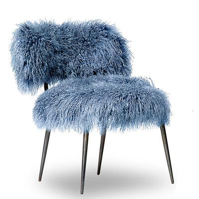 意大利Baxter MAMA  NEPA 教母设计师Paola Navone  巴克斯特  羊毛绒绒羊绒椅子摇椅