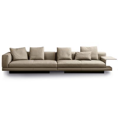 意大利Minotti CONNERY sofa康纳利沙发 Rodolfo Dordoni新中式沙发茶几组合一体