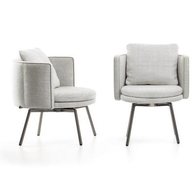 Minotti Nendo日本设计 鸟居椅子 餐椅洽谈椅 化妆椅 家用商用 实木五金软包椅
