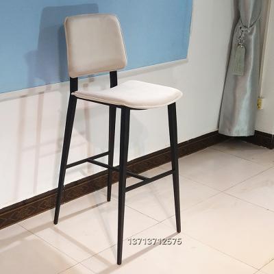 现货国际设计师高吧椅 异形方脚 High chair bar stool 酒店会所