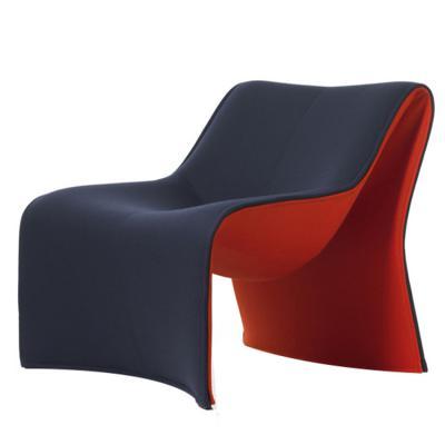 意大利卡西纳高根鞋玻璃钢异形家具休闲椅181 Cloth by Cassina 端庄的女性根鞋休闲椅 设计研发