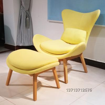 现货懒人沙发休闲躺椅 北欧美玻璃钢造型椅 酒店地产样品房商家用