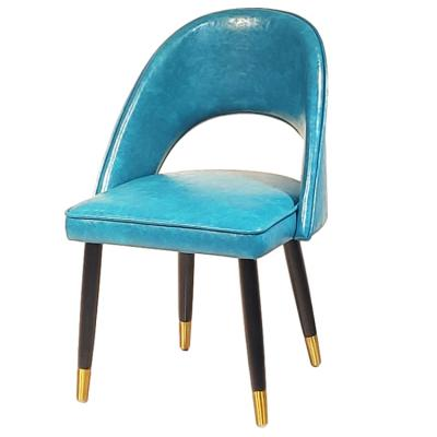 实物 现货 设计师轻奢极简简约 现代餐椅 客厅酒店餐厅家用金色脚样版房