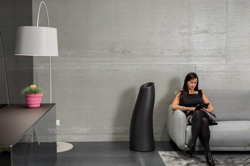 玻璃钢室内外夫人花瓶组合 空间设计商业空间装饰花器 S形曲线造型家用花瓶