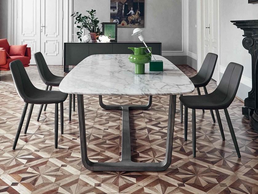 Bonaldo 实木脚 五金 大理石 岩石 实木桌面 餐桌咖啡桌 会议桌 酒店会所办公桌