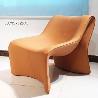 意大利设计师  高根柜子鞋休闲椅 样板房酒店会所现代极简约客厅酒店沙发北欧椅