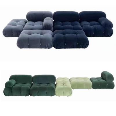 2021年夏上市 意大利 B&B ITALIA设计师Mario Bellini  复古挚爱沙发系列 camaleonda
