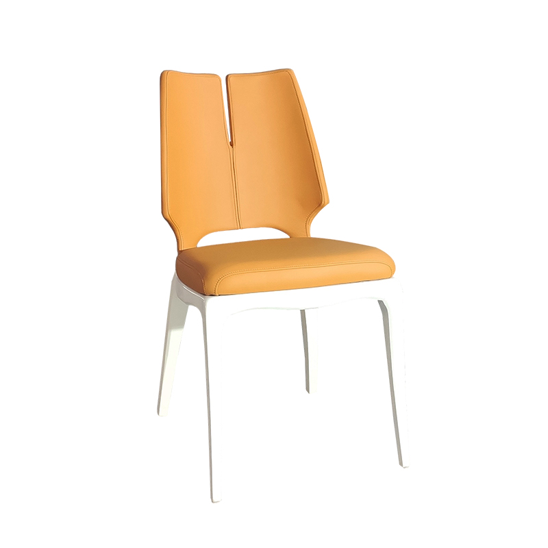 法国设计师保罗马蒂厄餐椅 新中式异形实木 欧式复古典家用商用款