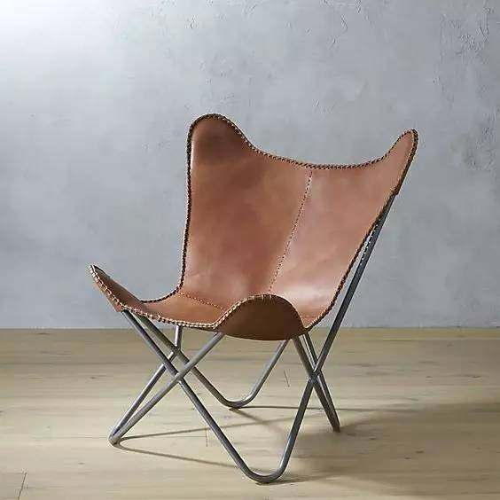 蝴蝶椅Butterfly Lounge Chair设计师the BKF chair